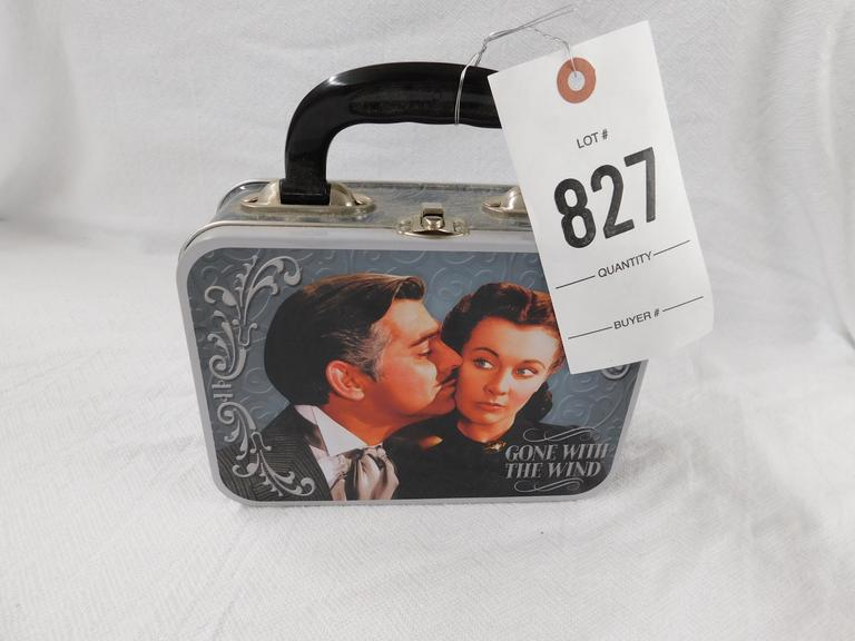 Gone With The Wind Tin Box