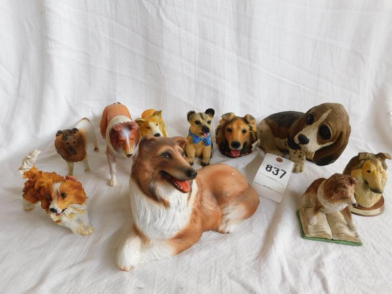 Collie Figurines